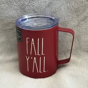 Rae Dunn Orange FALL Y'ALL Stainless Steel Mug